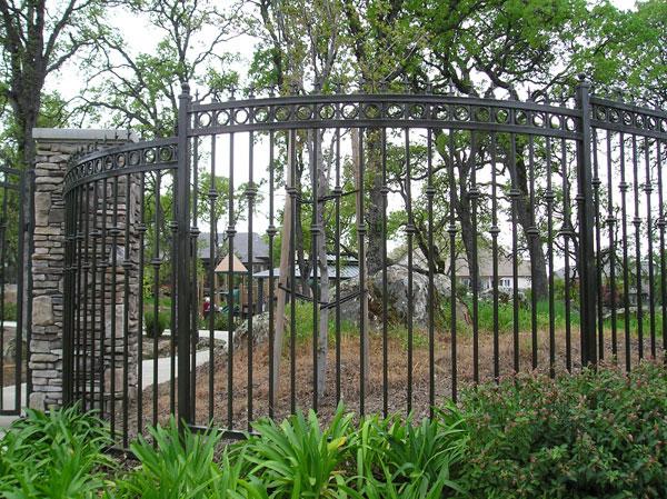Wrought Iron Fencing - Sacramento, CA