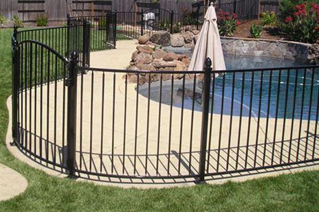 Wrought Iron Pool Fence Stockton, CA